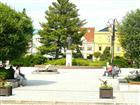Socha TGM na náměstí  (klikni pro zvětšení)