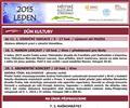 Kulturn� program na leden 2015