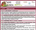 Kulturn� program na duben 2015