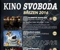 Program kina na b�ezen 2016