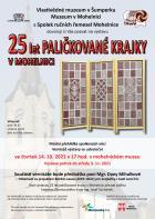 25 let paličkované krajky v Mohelnici