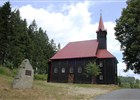 Dřevěný kostel na Gruni  (klikni pro zvětšení)