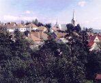 Pohled na město  (klikni pro zvětšení)