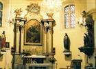 Interiér kostela  (klikni pro zvětšení)