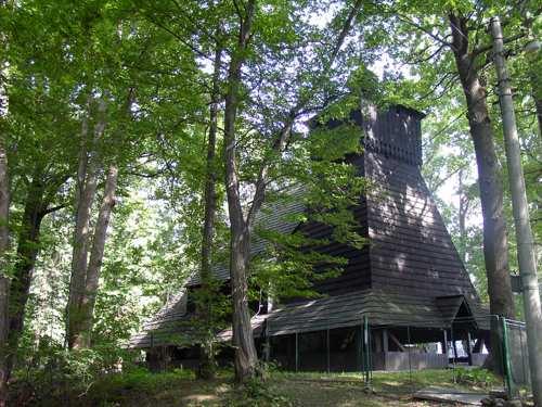 Kostelík v Gutách