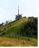 Vysílač na Lysé hoře, autor Lenka Šrubařová