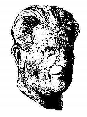 Ferdiš Duša - autoportrét