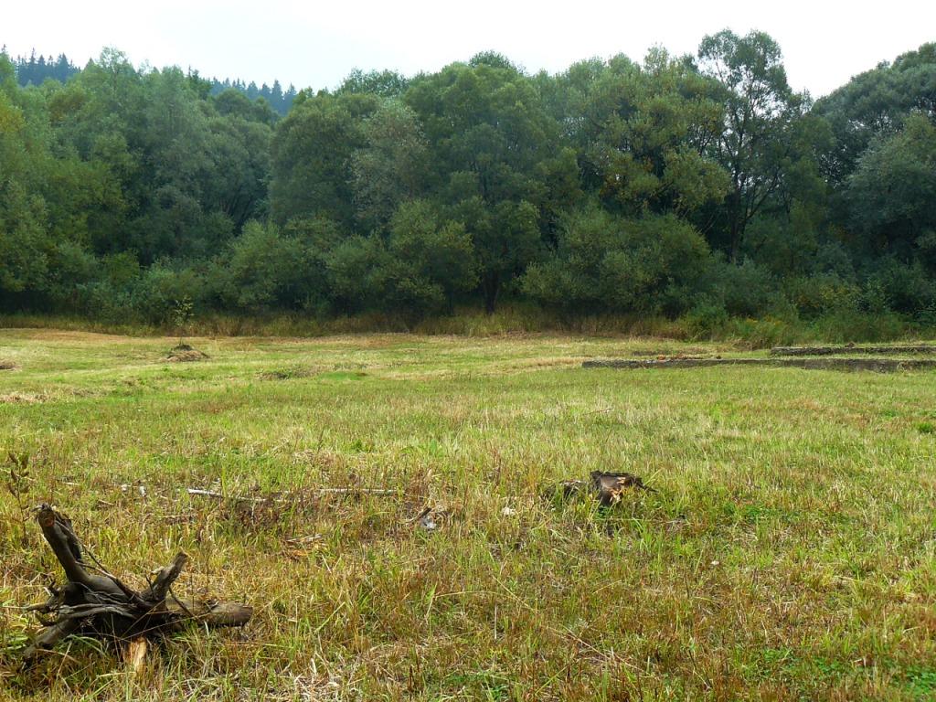 PŘEHRADA ŠANCE - podstav vody 2015