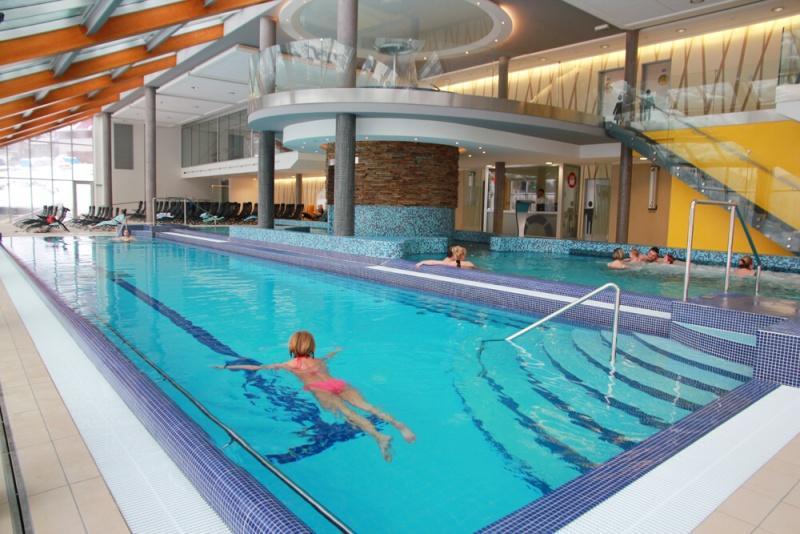 WELLNESS HORAL VELKÉ KARLOVICE - termální bazén