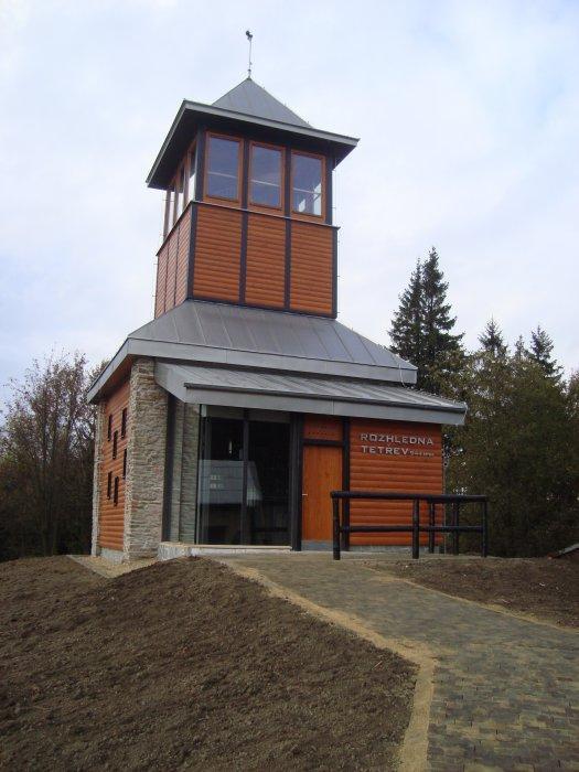Rozhledna Tetřev (944 m n. m.)