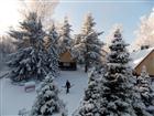 Chaty v zimě  (klikni pro zvětšení)