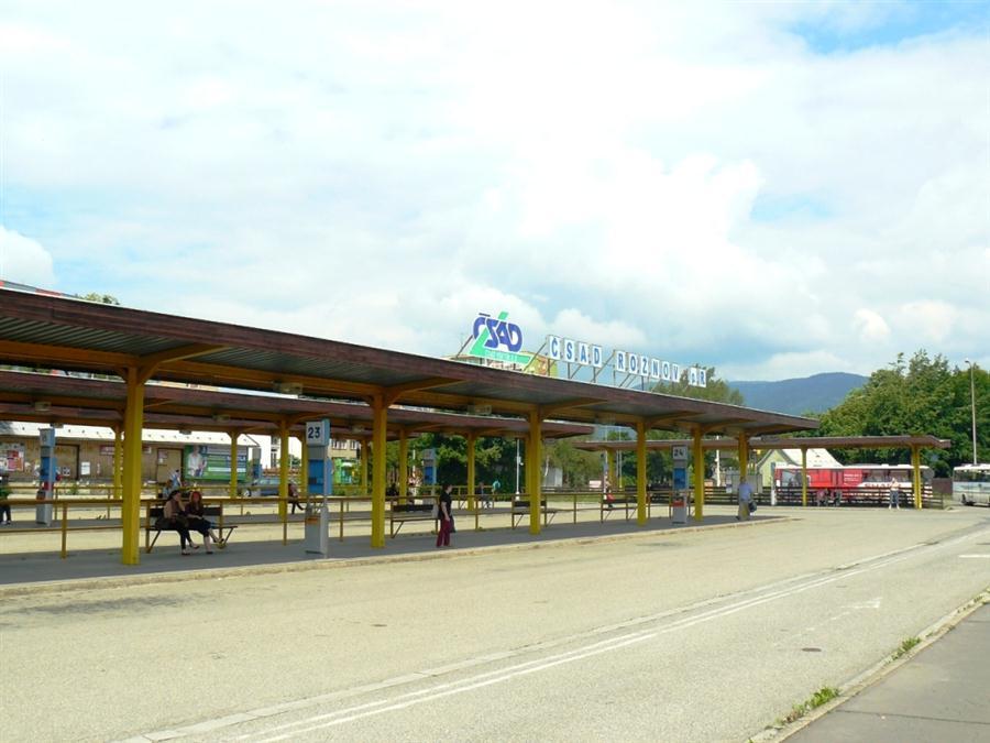 ČSAD Rožnov pod Radhoštěm - autobusové nádraží