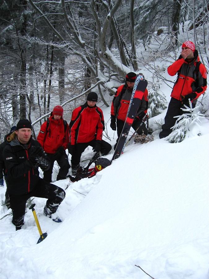 Pustevny - lavinový workshop - 29.1.2010