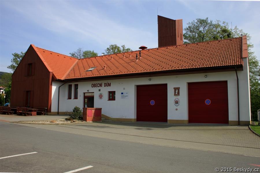 Obecní dům, Hasičská zbrojnice