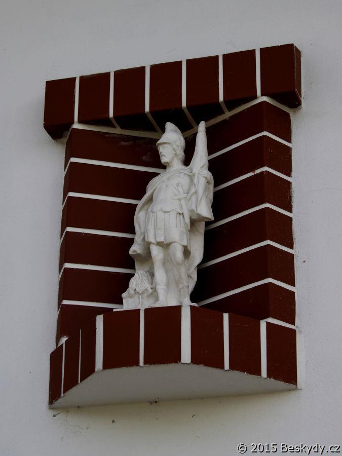Svatý Florián na Obecním domě
