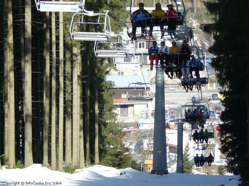 Ski areál Bílá - Lanovka Zbojník