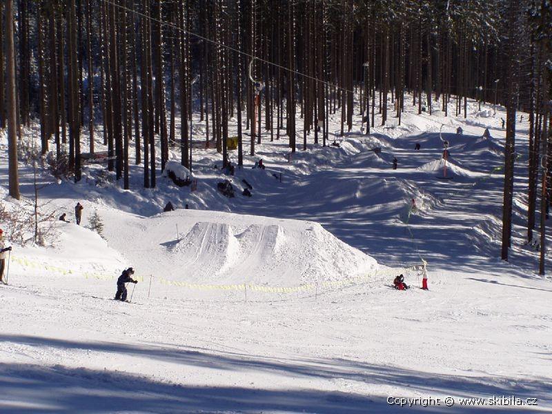 Ski areál Bílá - Snowpark