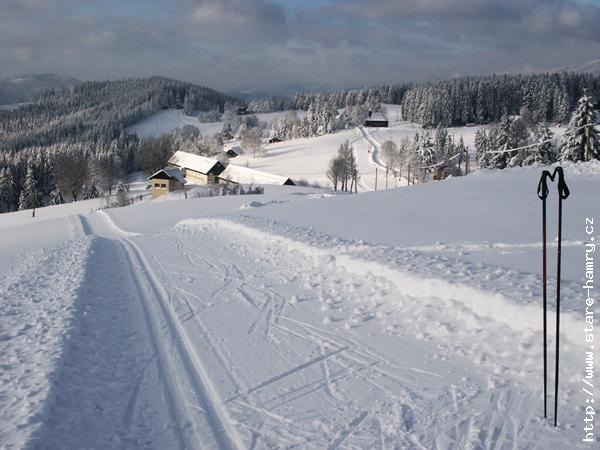 Zima - běžecká stopa, Gruň