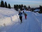Zima - běžecká stopa, Bílý Kříž  (klikni pro zvětšení)