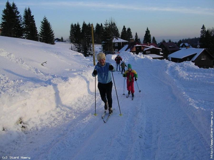Zima - běžecká stopa, Bílý Kříž