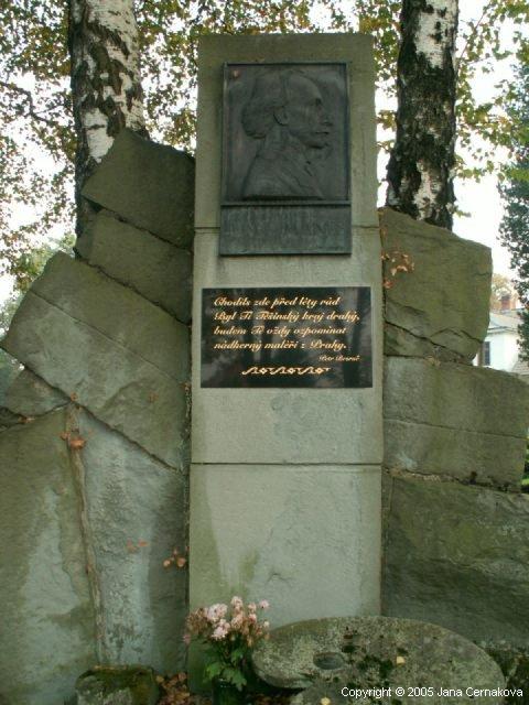 Pomník Josefa Mánese