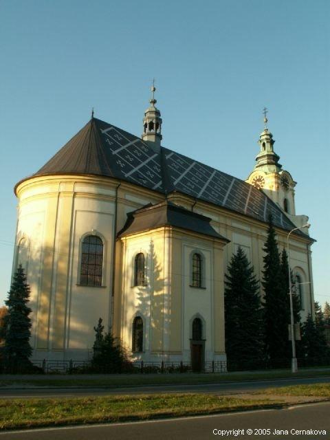 Kostel sv. Jana a Pavla,  Místek