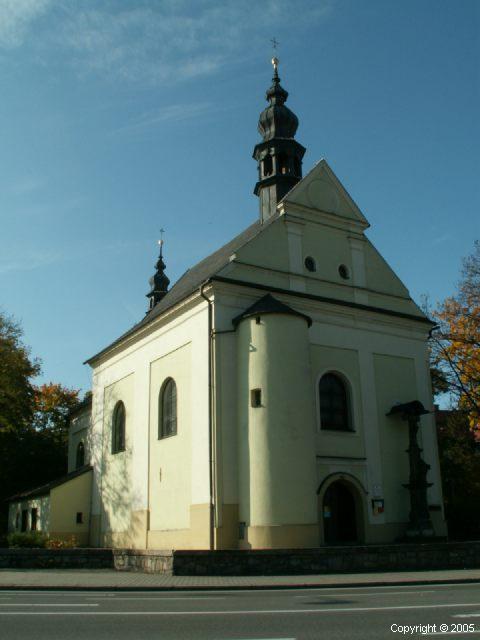Kostel Všech svatých, Místek