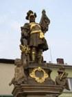 Socha sv. Floriána na náměstí  (klikni pro zvětšení)
