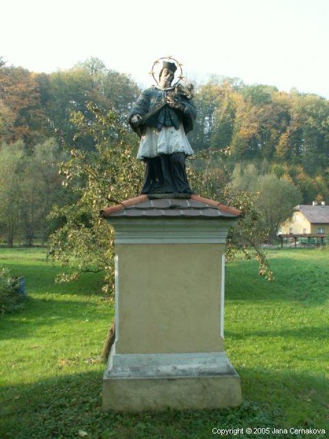 socha J. Nepomůckého