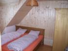 Penzion Beskýdek II - vrchí zadní ložnice  (klikni pro zvětšení)