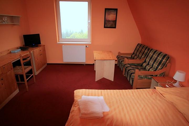 Penzion Sluníčko - Pokoj ve IV. patře