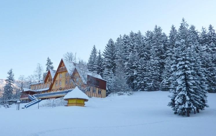 Penzion Sluníčko - zima
