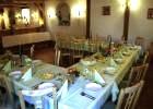 Penzion na Kamyncu - slavnostní tabule  (klikni pro zvětšení)