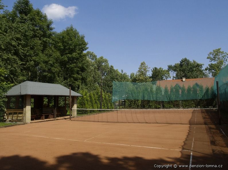 Penzion na Kamyncu - tenisový kurt