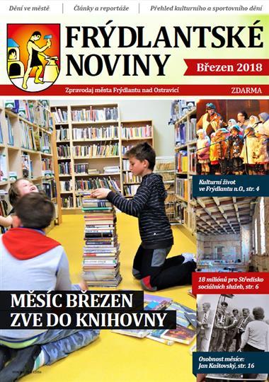 Frýdlanské noviny březen 2018