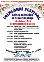 Folklórní festival Lašské městečko se stavěním máje