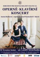 Koncert Anety Ručkové a Josefa Kratochvíla