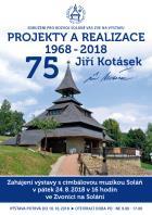 """Jiří Kotásek """"Projekty a realizace 1968-2018"""""""