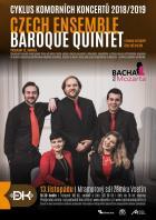 Cyklus komorních koncertů - Czech Ensemble Baroque Quintet