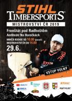 Mistrovství ČR ve STIHL Timbersports 2019