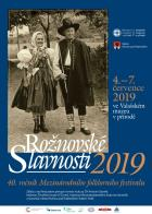 Rožnovské slavnosti 2019