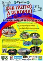 Den zážitků a rekordů pro děti a dospělé