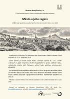 Konference Město a jeho region