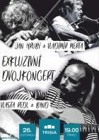 Dvojkoncert: Vlasta Redl s kapelou a trio Vladimír Merta + Jan Hrubý + Ondřej Fencl