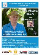 Výstavu obrazů malíře Ivana Jandory