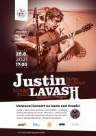 Koncert Justina Lavashe - zrušeno