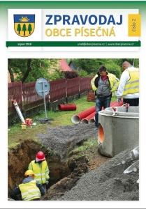 Zpravodaj obce Písečná - srpen 2018